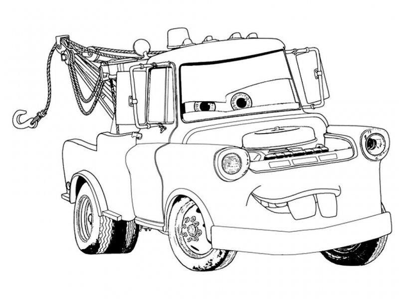 раскраска тачки для детей 3 года раскраски из мультфильма